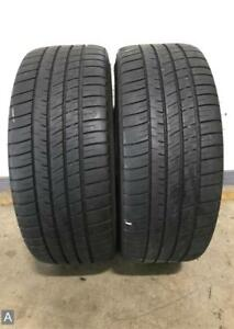 2x P225 40r19 Michelin Pilot Sport A S 3 6 5 7 32nds Used Tires