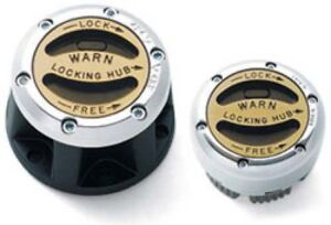 Warn 9062 Premium Hub Set Dana 30 External Lockout Hub Set