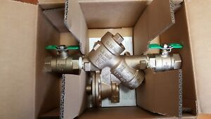 Zurn Wilkins 1 975xl2 Reduced Pressure Backflow Preventer Valve