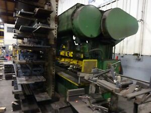 Used Verson Mechanical Press Brake 90 Ton By 12 Foot