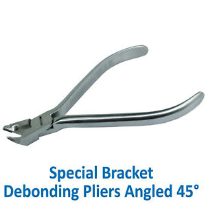 Dentaurum Dental Orthodontic Removing Bracket Debonding Pliers Angled 45