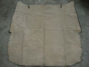 Bentley Simplex Pierce Arrow Canvas Cover Antique Car Rolls Royce