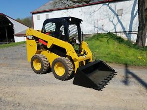 2015 Caterpillar 226d Compact Skid Steer Loader Diesel Hydraulic Cat Machinery