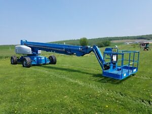 2002 Genie S125 Manlift Boom Lift Diesel Tractor Machine Construction Equipment