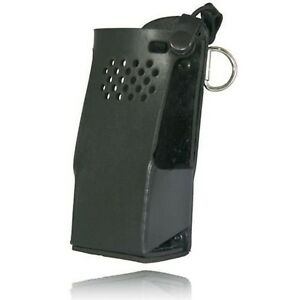 Boston Leather Radio Holder For Motorola Apx6000