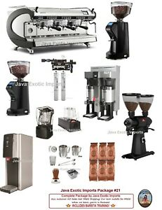 Simonelli Digit 3 Group Commercial Espresso Cafe Package Install Training