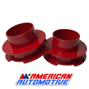 3 Red Front Leveling Lift Kit 1999 2007 Chevrolet Silverado Gm Sierra 1500 2wd