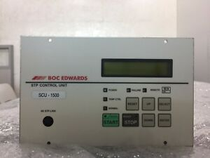 Boc Edwards Scu 1500 Turbo Pump Control Unit