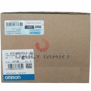 Brand New In Box Omron Cp1e n40s1dt1 d Plc Module