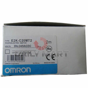 New Omron E2k c20mt2 Capacitive Approach Switch Sensor 2m Nc 3 20mm
