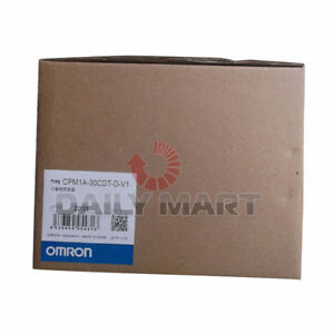 Omron Automation And Safety Cpm1a 30cdt d v1 Cpu Programmable Logic Controller