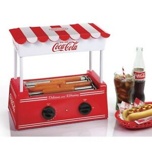 Hot Dog Roller Grill Coca cola Food Machine Cooker Dinner Cooking Nostalgia