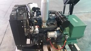 16 5kw Single Phase 120 240 Kubota Diesel Generator Set New Engine