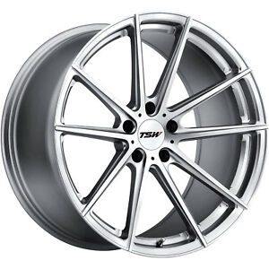 18x9 5 Silver Tsw Bathurst Wheels 5x4 5 39 Fits Mitsubishi Lancer Evolution