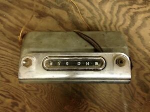 Old Vintage Car Radio