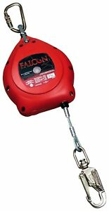 Miller Mp20g z7 20ft Falcon Self Retracting Lifeline Cable 20 Red