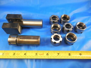 Er20 Collet Chuck 25mm 7 Spare Nuts 1 Other Pc Machine Shop Toolmaker Tools