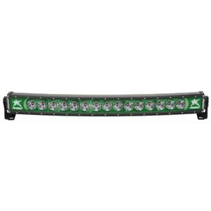 Rigid Industries 33003 Radiance Curved 30 Green Backlight W Multi Trigger Harn