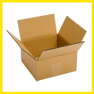Shipping Boxes 25 Pack 6x6x4 Cardboard Mailing Storage Small Packing Boxes