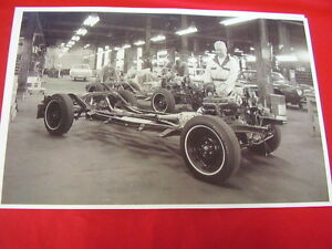 1966 Studebaker Avanti Assembly South Bend Big 11 X 17 Photo Picture