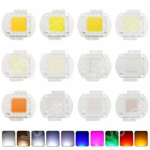 100w Led Bright Integrated Chip High Power Bulb Floodlight Emitting 22 Color Us