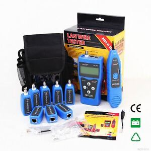 New Nf388 Network Lan Phone Cable Tester Wire Tracker With Multiple Tester Ports