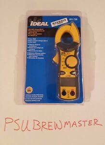 Ideal 61 736 400 Aac Clamp Meter new