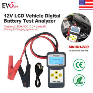 12v Lcd Car Vehicle Digital Battery Tester Analyzer Diagnostic Tool New