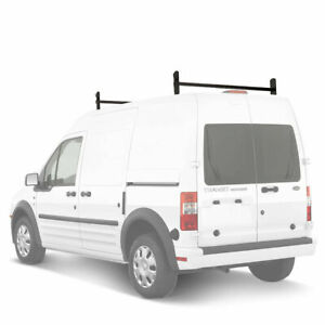 Adjustable Ford Transit Connect 2008 13 Seel 2 Bar Drilling Van Roof Ladder Rack