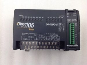 Automation Direct Logic D0 05dd d Plc With D0 07cdr Module