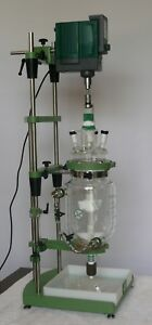 Chemglass Cg 1949 x 5d Chemrnxhub 5l Jacketed Lab Reactor Jlr W Digital Stirrer
