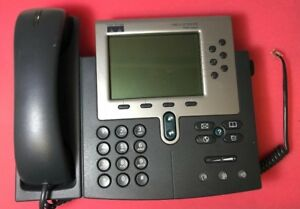 lot Of 5 Cisco Cp 7960g Voip Ip Poe Phone W Handset