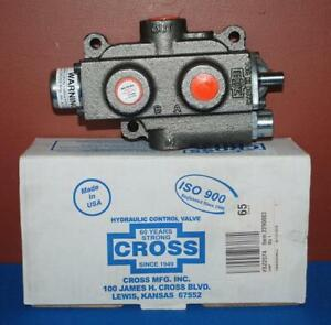 Nib Cross Iso 9001 Hydraulic Control Valve Sca2 3 position 4 way brs