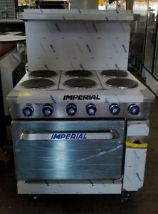 Imperial Ir 6 e 36 Electric Range Never Been Used