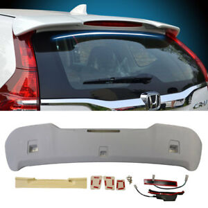 Fit For 12 2016 Honda Crv Cr v Oe Style Rear Roof Spoiler Wing Unpainted