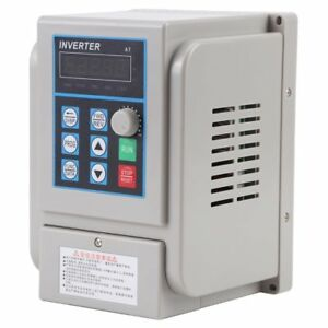 220v 1 5kw 8a Single Phase Vfd Variable Frequency Filter Drive Speed Inverter Us