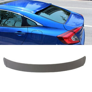 Fit For Honda Civic 2016 2018 Rear Window Roof Spoiler Wing