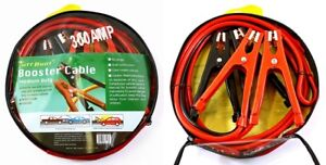 10ft 8ga Booster Cable Jumping Cable Power Jumper Starter Automotive Emergency