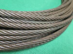 Shaw Box Crane Hoist Wire Rope Cable 5 16 96 9 325 Rigging Lifting Hoisting