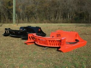 80 Mtl Attachments Xc7 Extreme Skid Steer Brush Cutter 3 Blade made Us 249 Ship