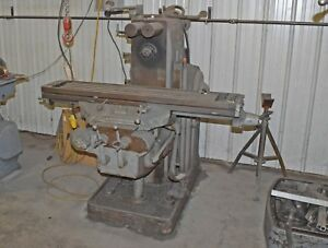 Milwaukee Model H Vertical Milling Machine