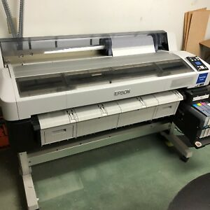 Epson Surecolor F6200 F series 44in Dye Sublimation Printer Computer