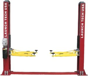 New Launch 9 000 Lb Symmetric 2 Post Auto Lift Car Hoist Free Truck Adapters