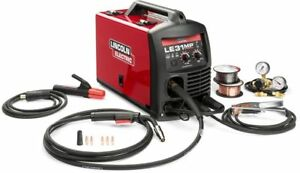 Lincoln Electric 140 Amp Le31mp Multi process Stick mig tig Welder With Magnum