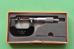 Mitutoyo Mechanical Disc Micrometer 123 125 0 To 1 0 001 Graduation