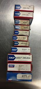 A Lot Of Skf Bearings See Listing Below All New In Box Loc 109c