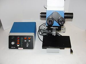 Reichert Jung Polyvar Met Microscope 66733 Fabr Nr 399233 Type 6526 04 Contro