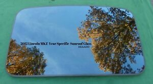 2012 Lincoln Mkz Oem Factory Year Specific Sunroof Glass Panel Free Shipping