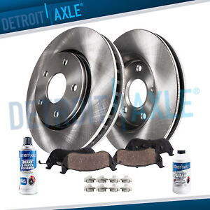 Front Brakes Rotor Ceramic Pads For 2008 2009 2010 2011 2012 2013 Nissan Rogue