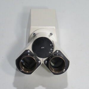 Carl Zeiss Binocular Head For Axioskop 20 And 50 Microscopes 452905